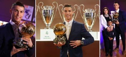Top 5 Mùa giải thành công nhất của Cristiano Ronaldo